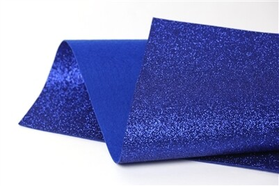 NEW! Glitter Felt - Royal