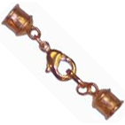 9mm Copper Lobster Clasp Set--  $12.45