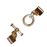 Flat Braid Toggle Clasp Set -- $3.95