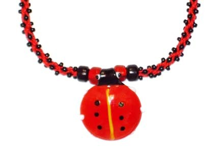 Beaded Ladybug Materials Kit -- $19.95
