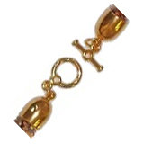 Plated Toggle Clasp Set -- $3.95 - $4.25