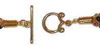 Brass Toggle Clasp Set -- $4.95 - $5.25