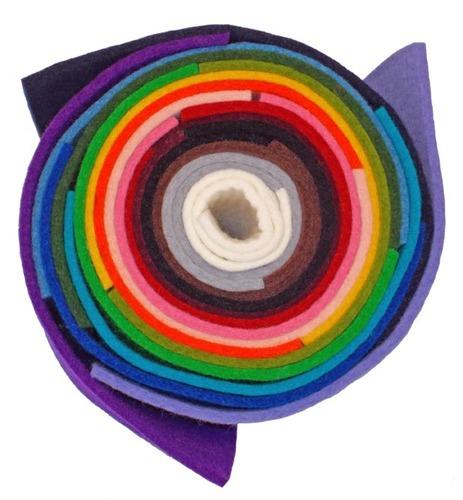 3mm 100% Wool Felt -- Complete Color Set