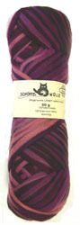 Artfelt® Wool Pencil Roving -- Plum Sauce