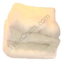 Silky Wool Core Fiber Carded Wool