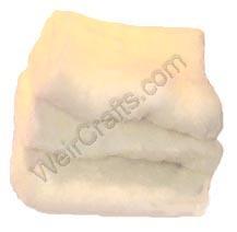 Silky Wool Core Fiber Carded Wool