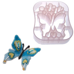 Needle Felting Applique Mold - Butterfly
