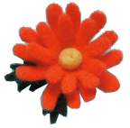Needle Felting Applique Mold - Daisy
