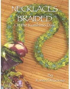CLOSEOUT! 40% off -- Necklaces Braided on the Kumihimo Disk -- small tear on cover