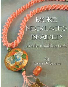 SALE! 20% off -- More Necklaces Braided on the Kumihimo Disk