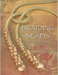 SALE! 20% off -- Braiding with Beads on the Kumihimo Disk