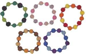 Felt Bead Bracelet Kit