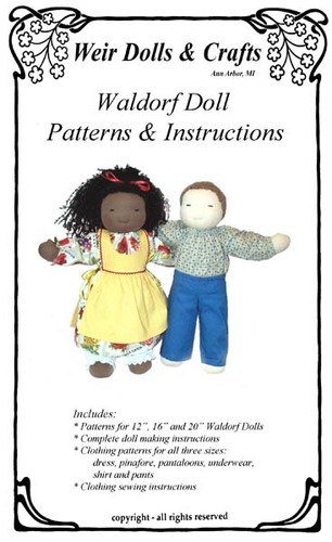 waldorf doll patterns weir crafts