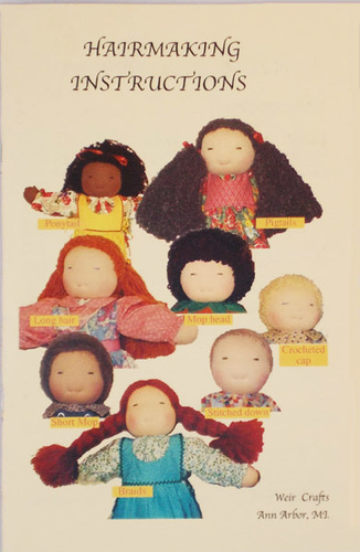 Doll Hair Instruction Booklet