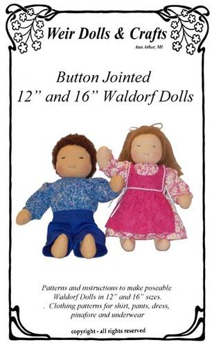 waldorf doll hair instructions