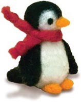 Needle Felted Penguin Kit