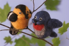 Needle Felted Songbirds Kit