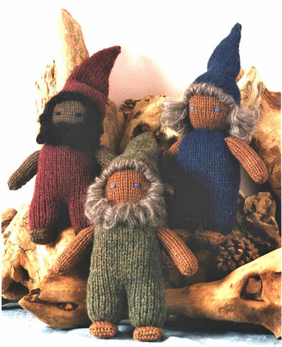 Knitted Dwarf Kit or Pattern