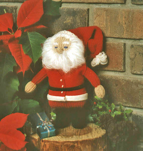 CLOSEOUT: Knitted Santa Kit