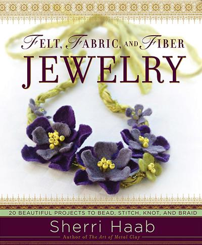 Felt, Fabric and Fiber Jewelry