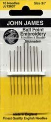 Ball Point Hand Sewing Needles