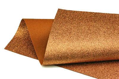 Glitter Felt - Copper