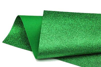 Glitter Felt - Green
