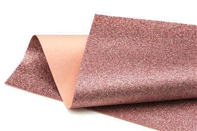 Glitter Felt - Rose pink