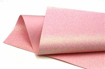 Glitter Felt - Iridescent pink