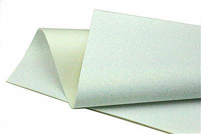 Glitter Felt - Iridescent white
