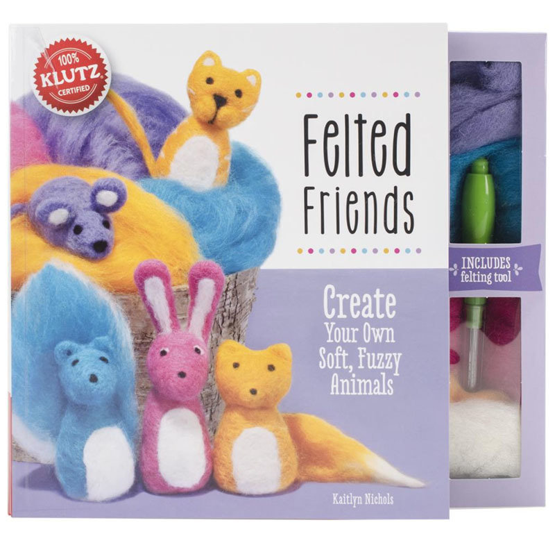 Needle Felted Friends  Felting Book and Kit