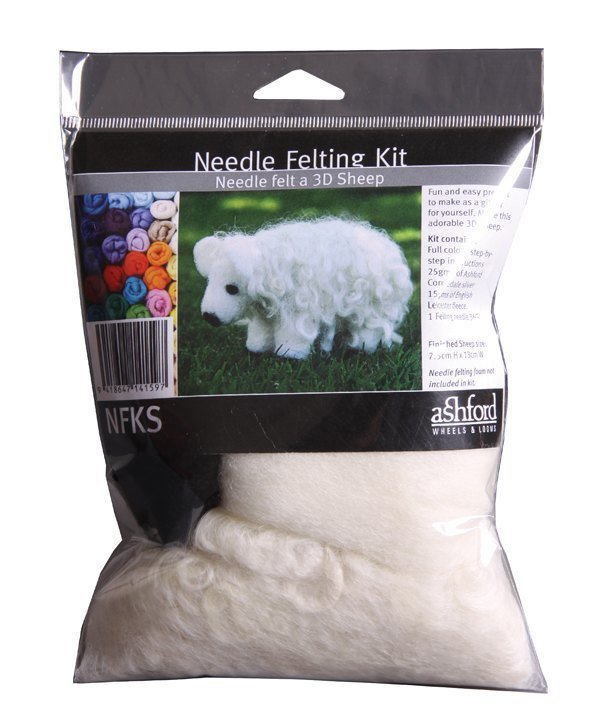 Needle Felted Sheep Kit