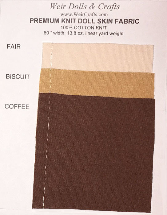 Premium Doll Skin Swatch Card