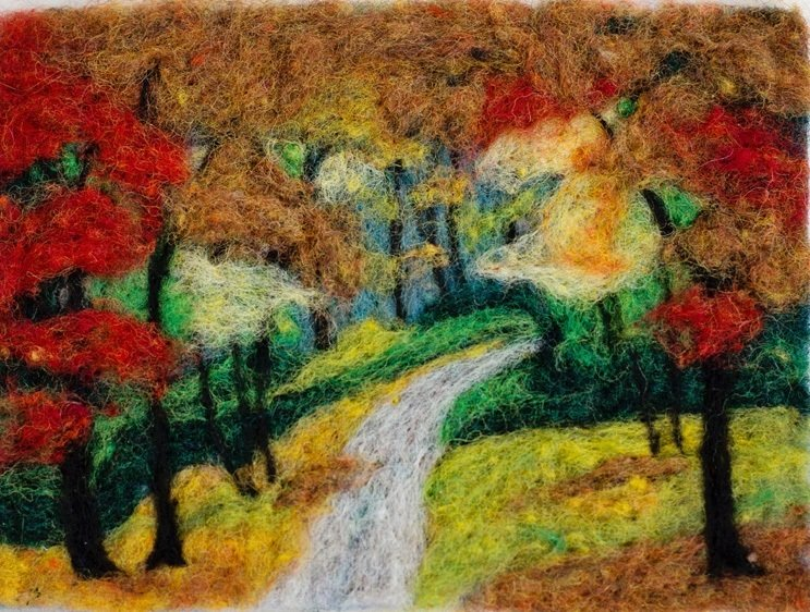 Fall Foliage Needle Felting Kit