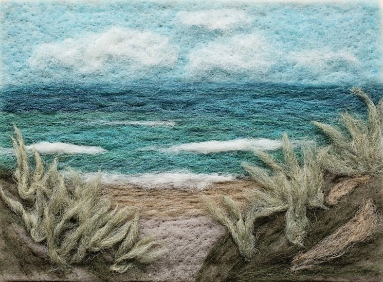 Ocean View Needle Felting Kit