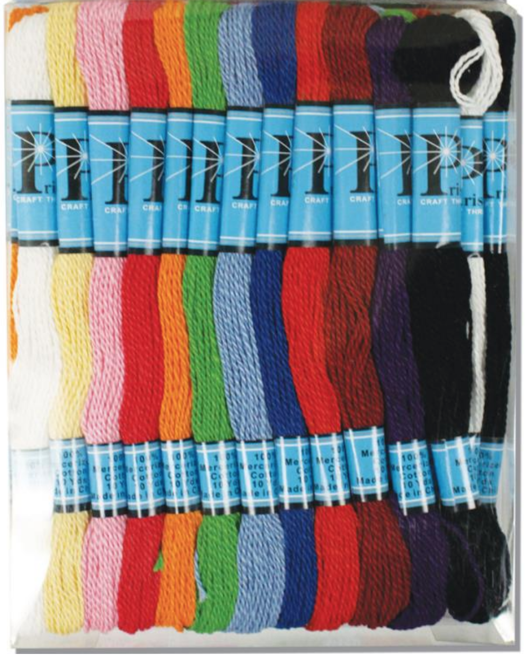 36 Skein Cotton Thread Assortment
