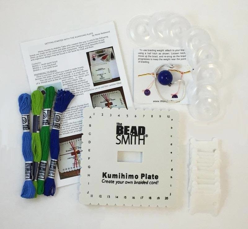 Braiding Plate Starter Set