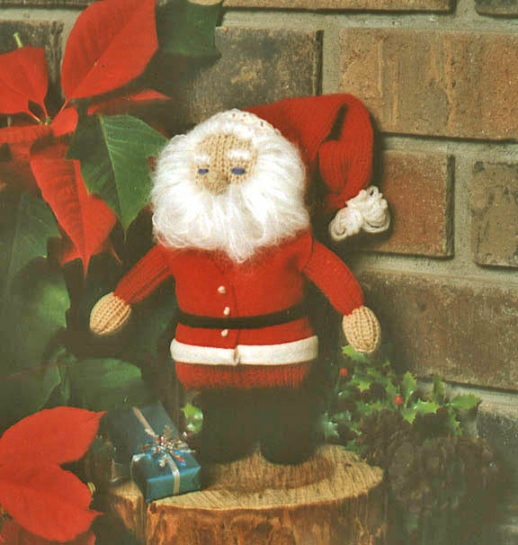 FINAL DISCOUNT CLOSEOUT 70% OFF: Knitted Santa Kit