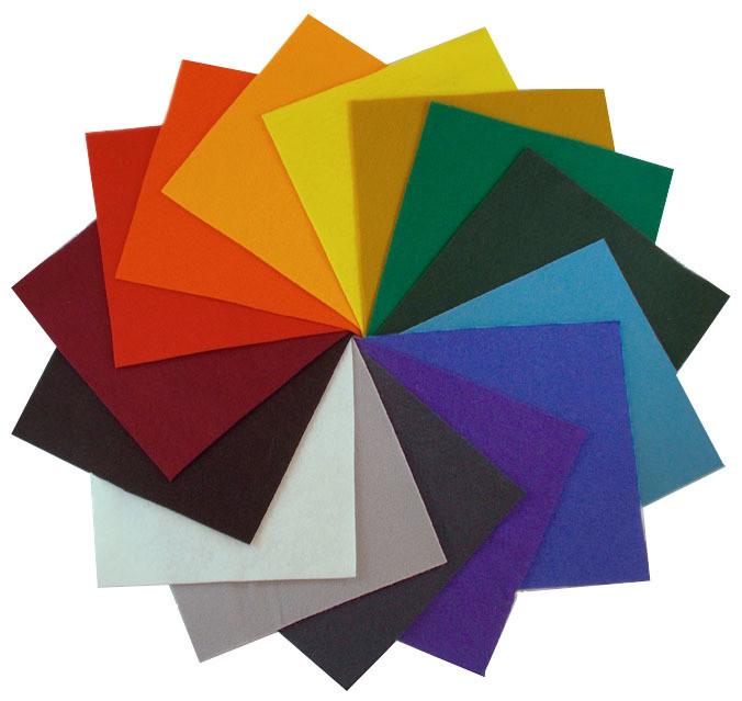 70% Wool Felt Color Set