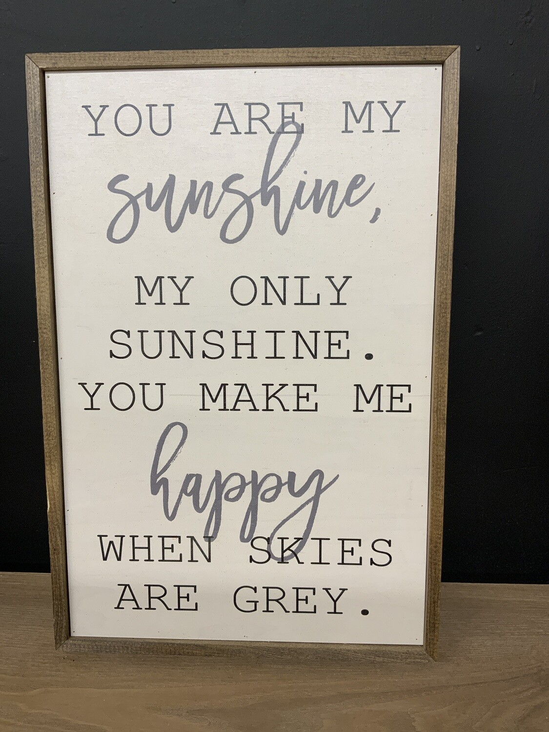 12x18 you are my sunshine