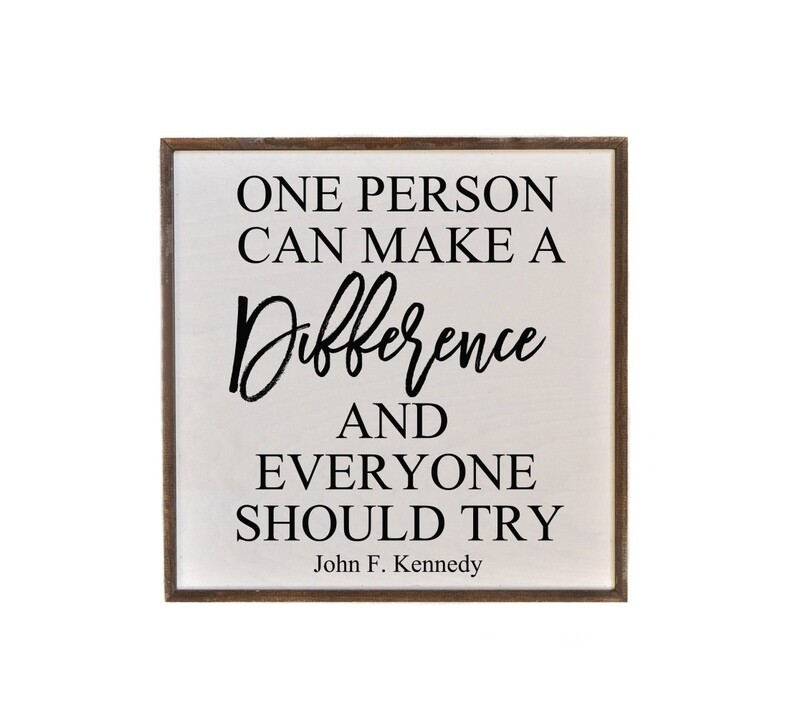 16x16 everyone can make a difference