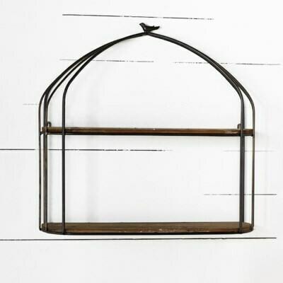Birdcage shelf