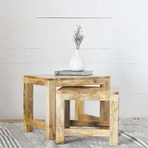 s/2 wood end tables