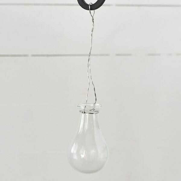Bulb Hanging Vase