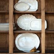 Cream platters