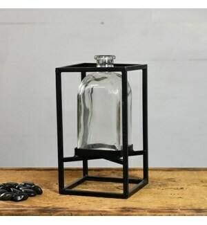 Hanging bottle vase