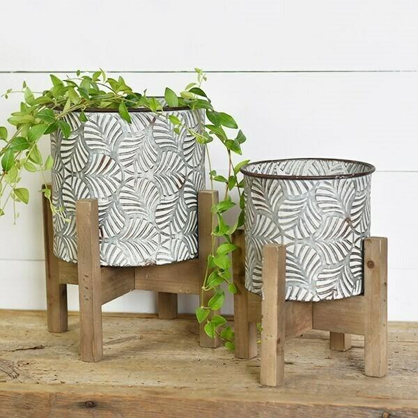 Boho Tin Planters