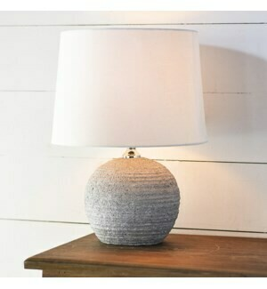 Gray Texture Lamp