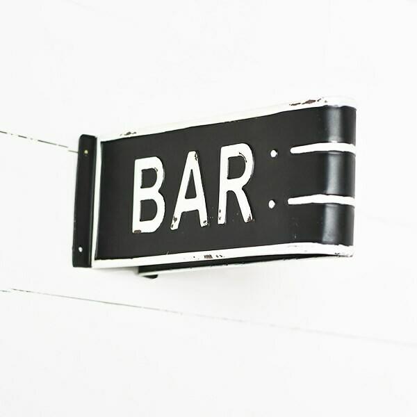 Bar tin sign