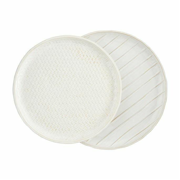 Nested Stoneware Platters